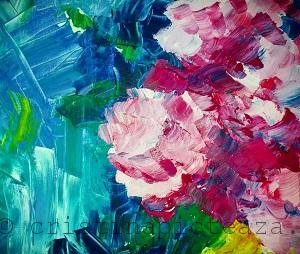 Abstract Painting by Cristina Iordache
