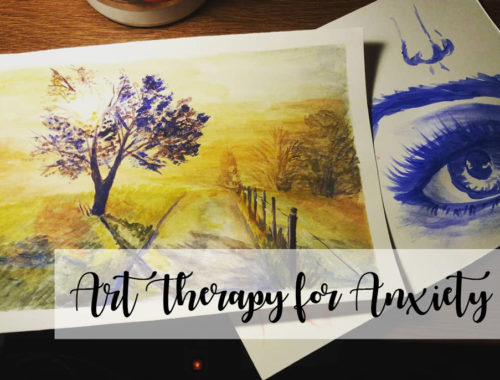 Art Therapy for Anxiety Painting
