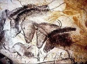 Chauvet Cave Paintings - Prehistoric Art Painting