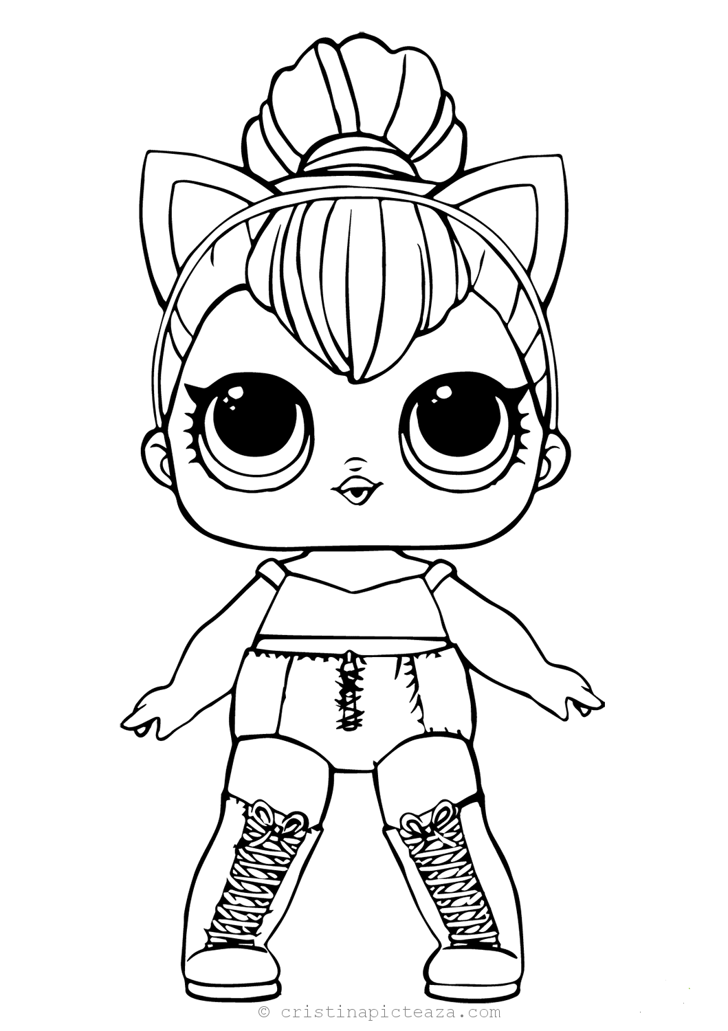 LOL Coloring pages Lol Dolls