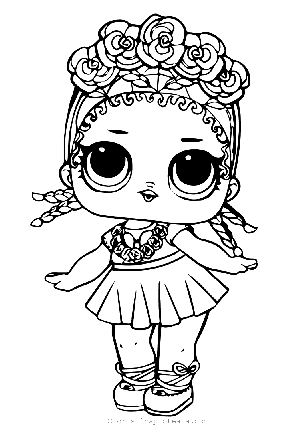 LOL Coloring pages - Lol Dolls for Coloring and Painting