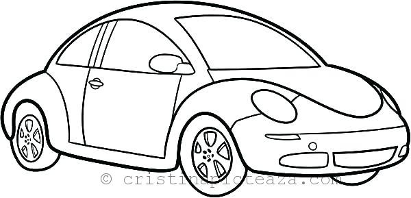 Car Coloring Pages for Kids - Download coloring pages with cars