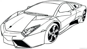 Lambourghini de colorat