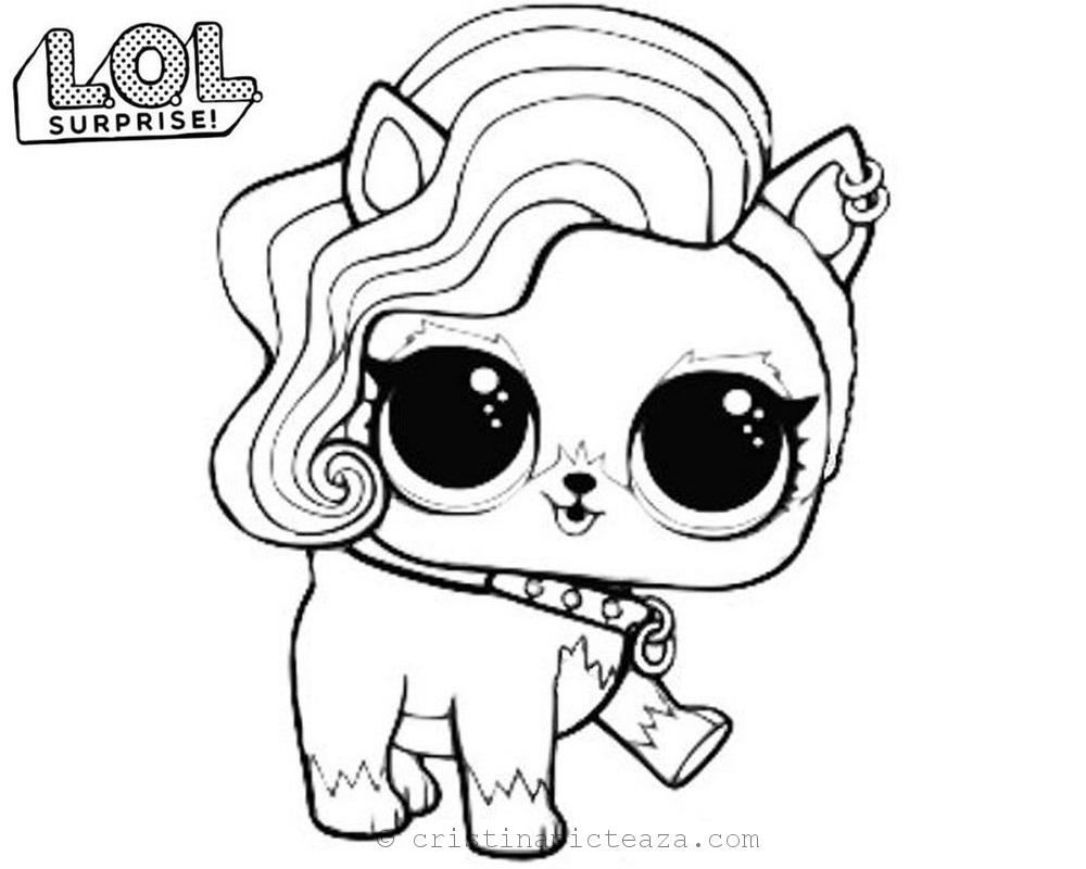 LOL Pets Coloring pages - Coloring sheets with LOL Surprise
