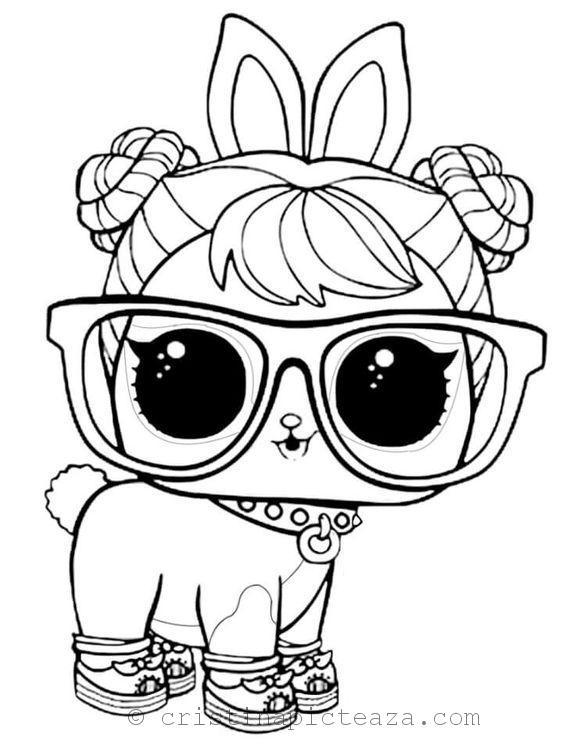 Planse de Colorat cu LOL Animale – Planse si fise cu ...