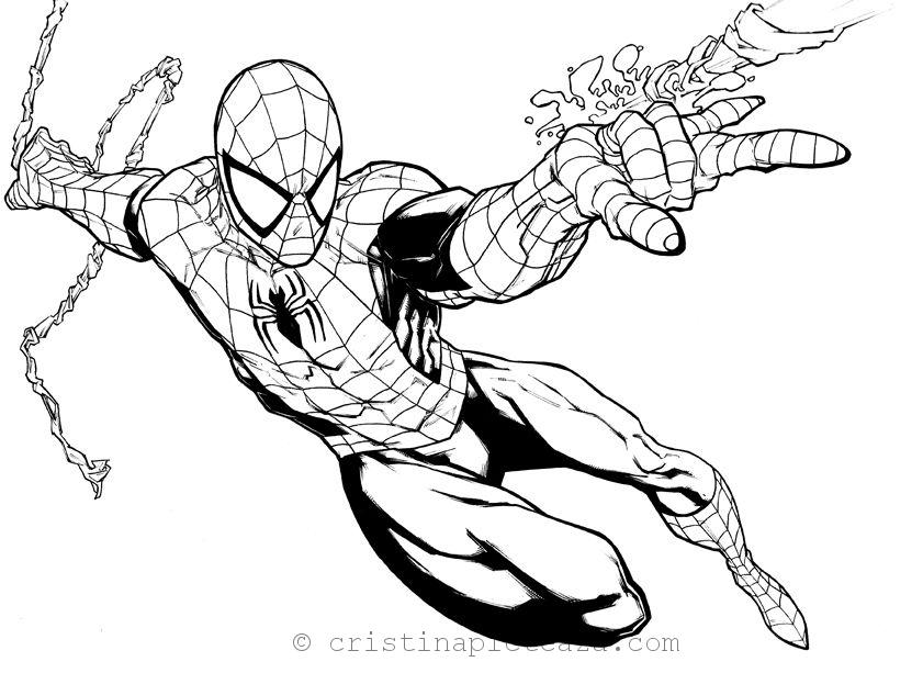Spiderman Coloring Pages - Far From Home Coloring Sheets