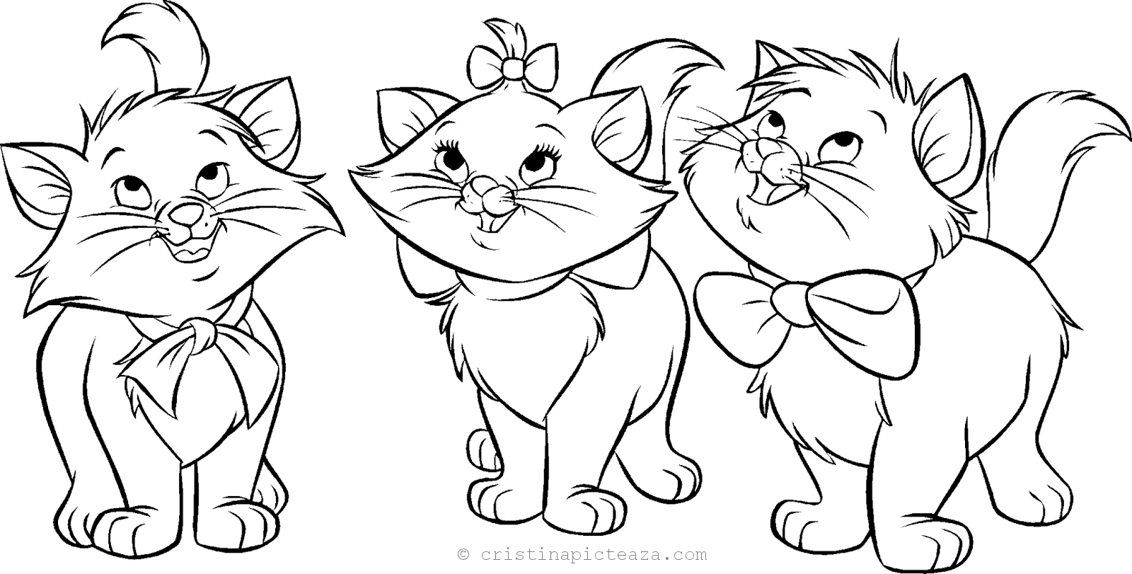 Cat Coloring Pages Coloring Pages With Cats For Kids