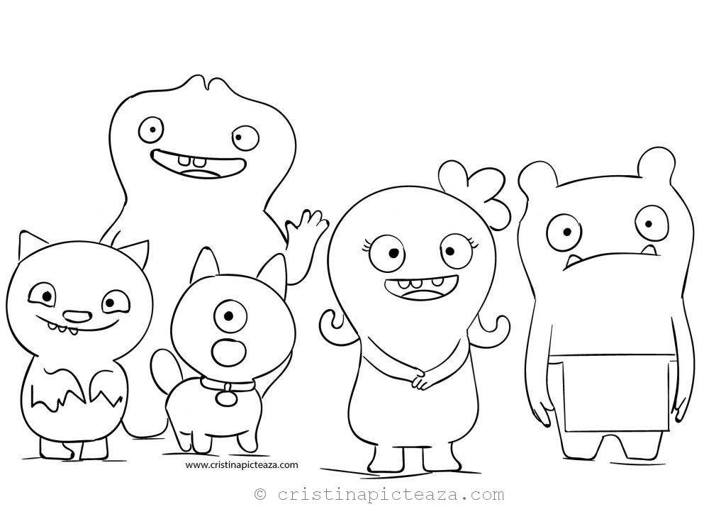 UglyDolls coloring pages