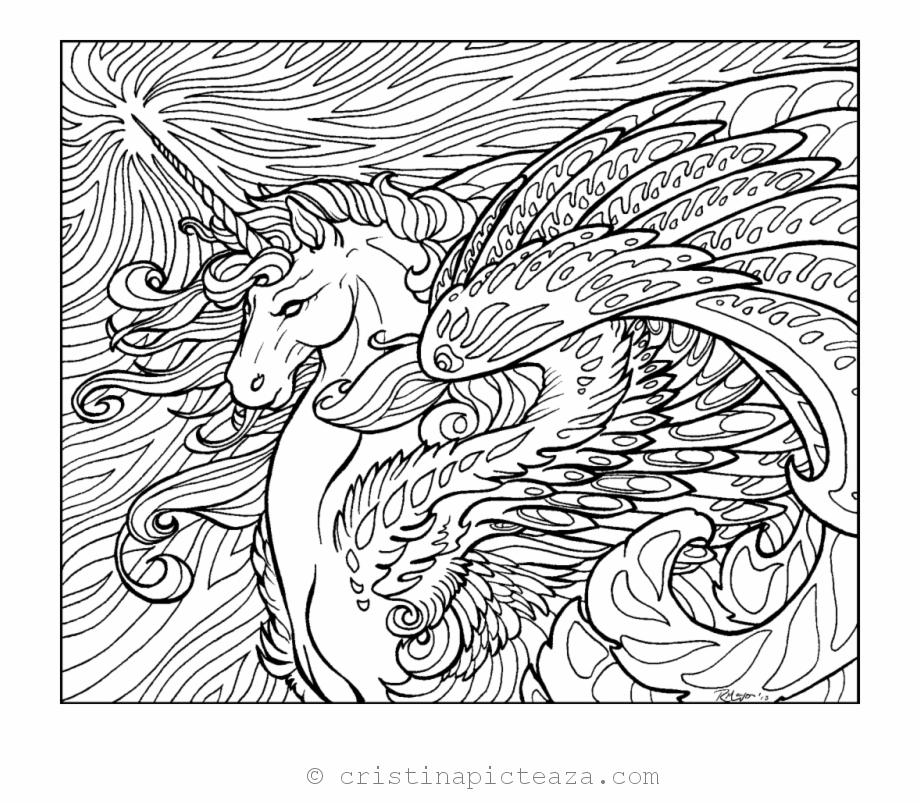 Unicorn Coloring Pages Unicorn Horse For Coloring