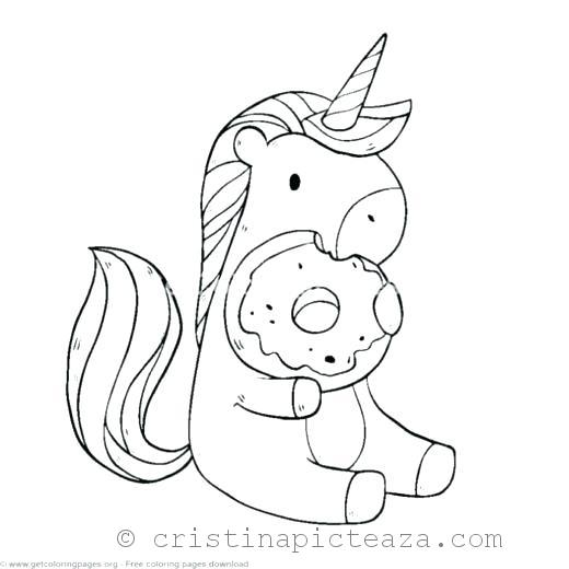 Unicorn Coloring Pages – Unicorn horse for coloring