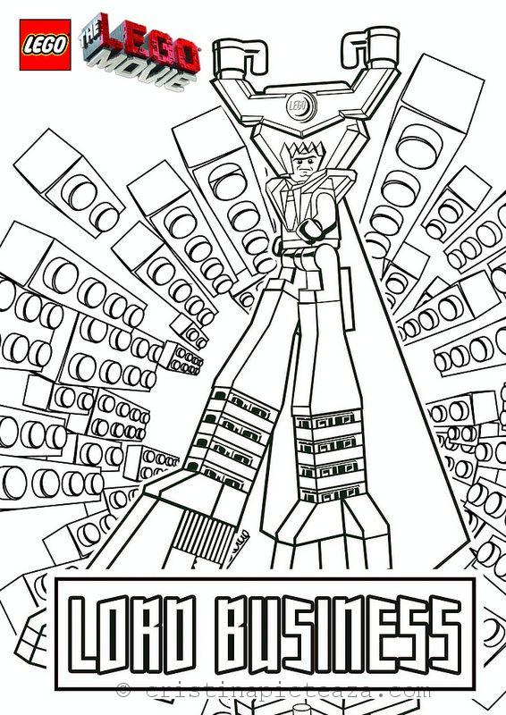 The Movie Lego Coloring Pages Cristina Is Painting