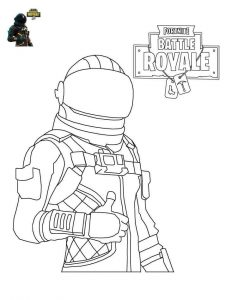 Voyager Fortnite de colorat - planse de colorat fortnite for coloring