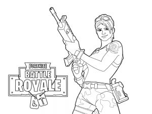 Fortnite de colorat - planse de colorat fortnite for coloring