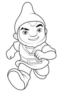 Gnomeo and Juliet coloring pages