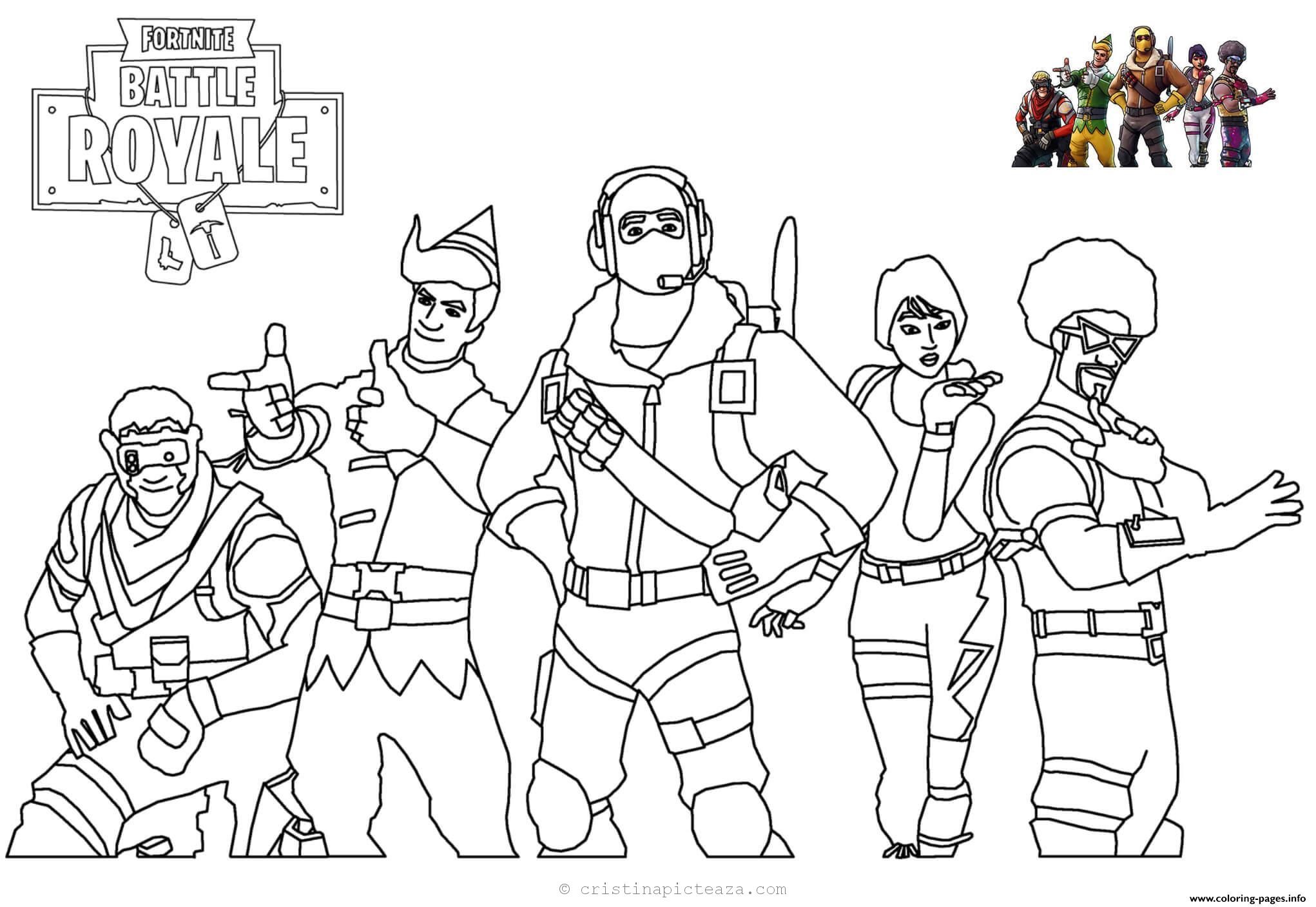 880 Top Coloring Pages Fortnite  Images