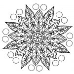 Mandala for coloring