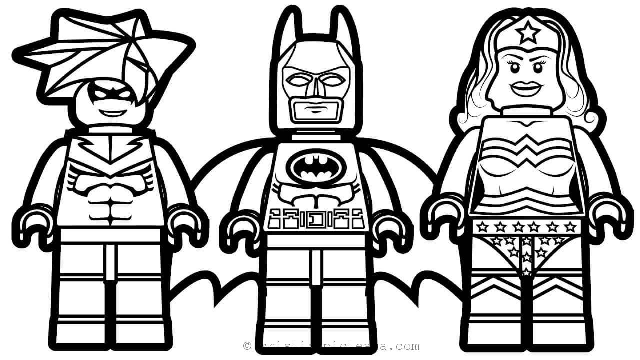 The Movie Lego Coloring Pages - Cristina is Painting