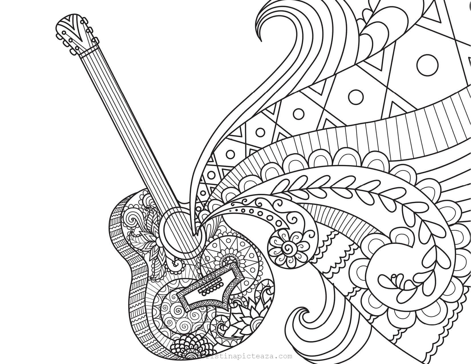 Coco Coloring Pages Drawings From Coco Animation