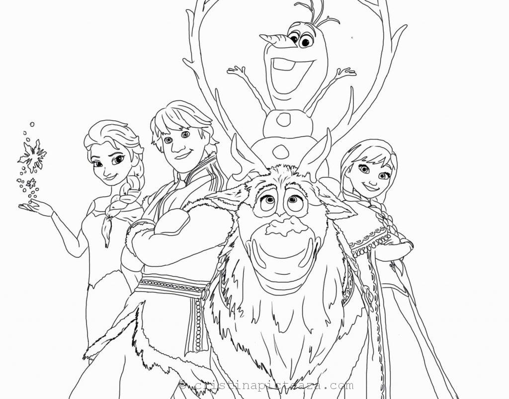 Frozen 2 Coloring Pages - Elsa and Anna coloring