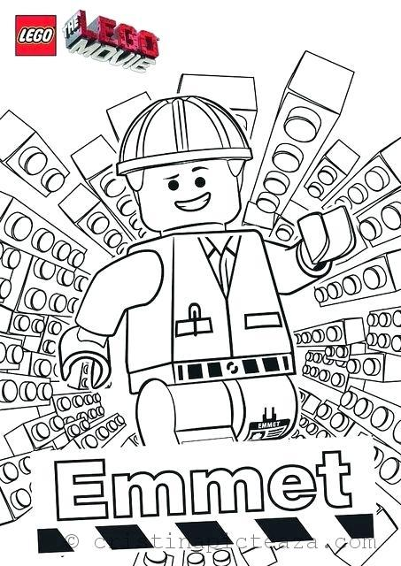25 Wonderful Lego Movie Coloring Pages For Toddlers | 640x453