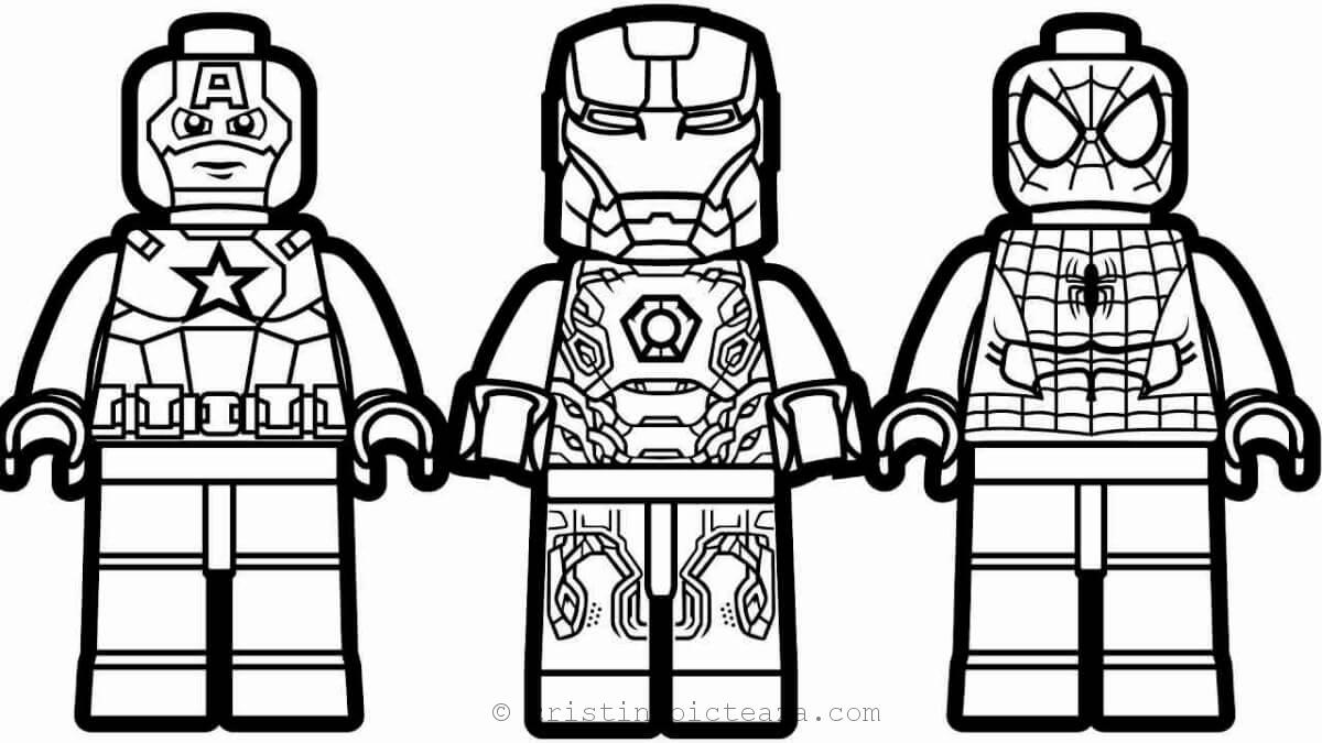 Lego Spiderman Coloring Pages – coloring.rocks! | 675x1200