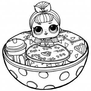 LOL Dolls Coloring pages