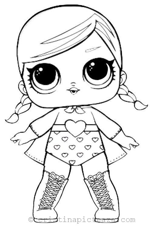 LOL Dolls Coloring Pages – Coloring Sheets With LOL