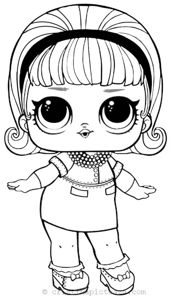 Lol Dolls Coloring Pages Coloring Sheets With Lol