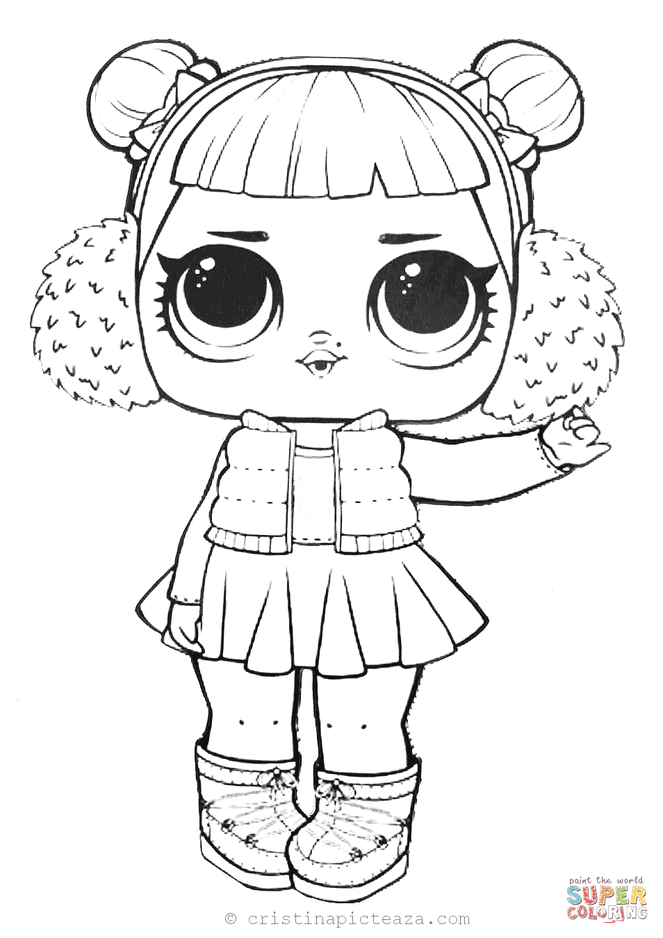 LOL Dolls Coloring Pages - Coloring sheets with LOL