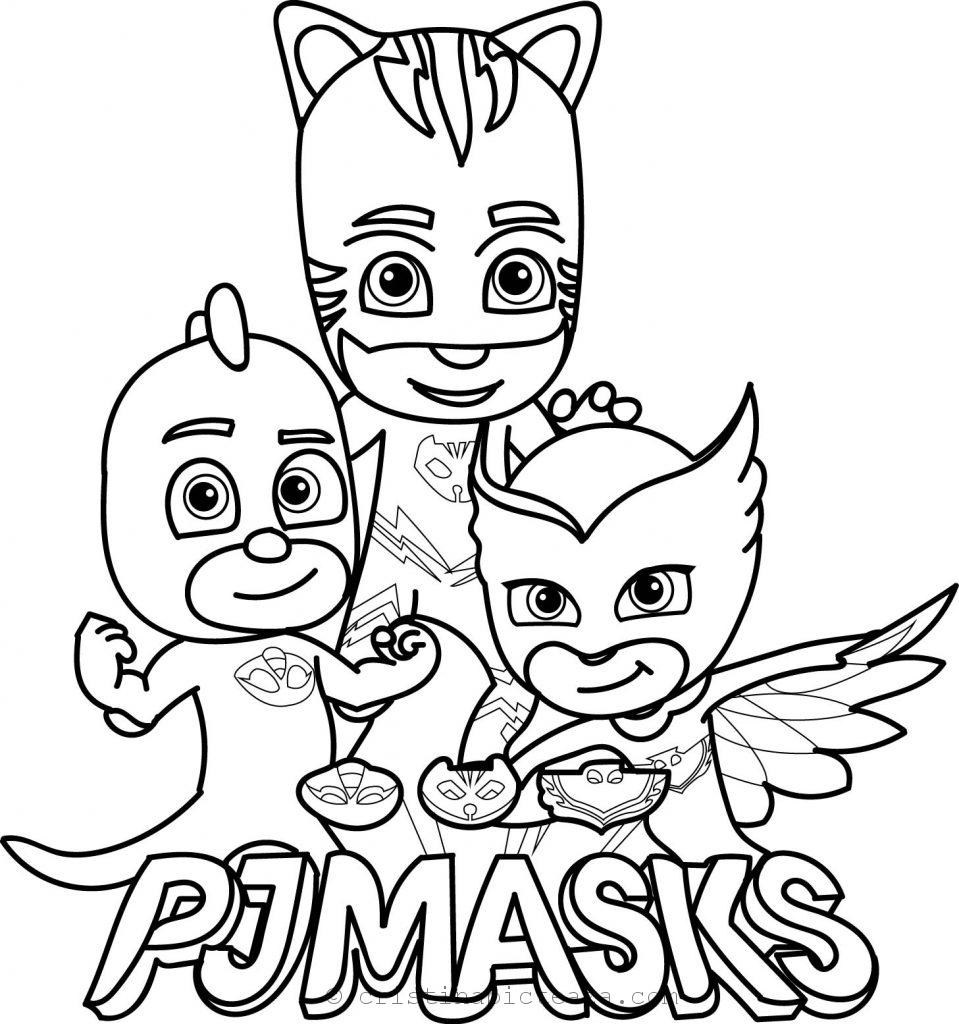 design atemporal furnizor oficial cauta PJ Masks coloring pages – Coloring sheets with your heroes