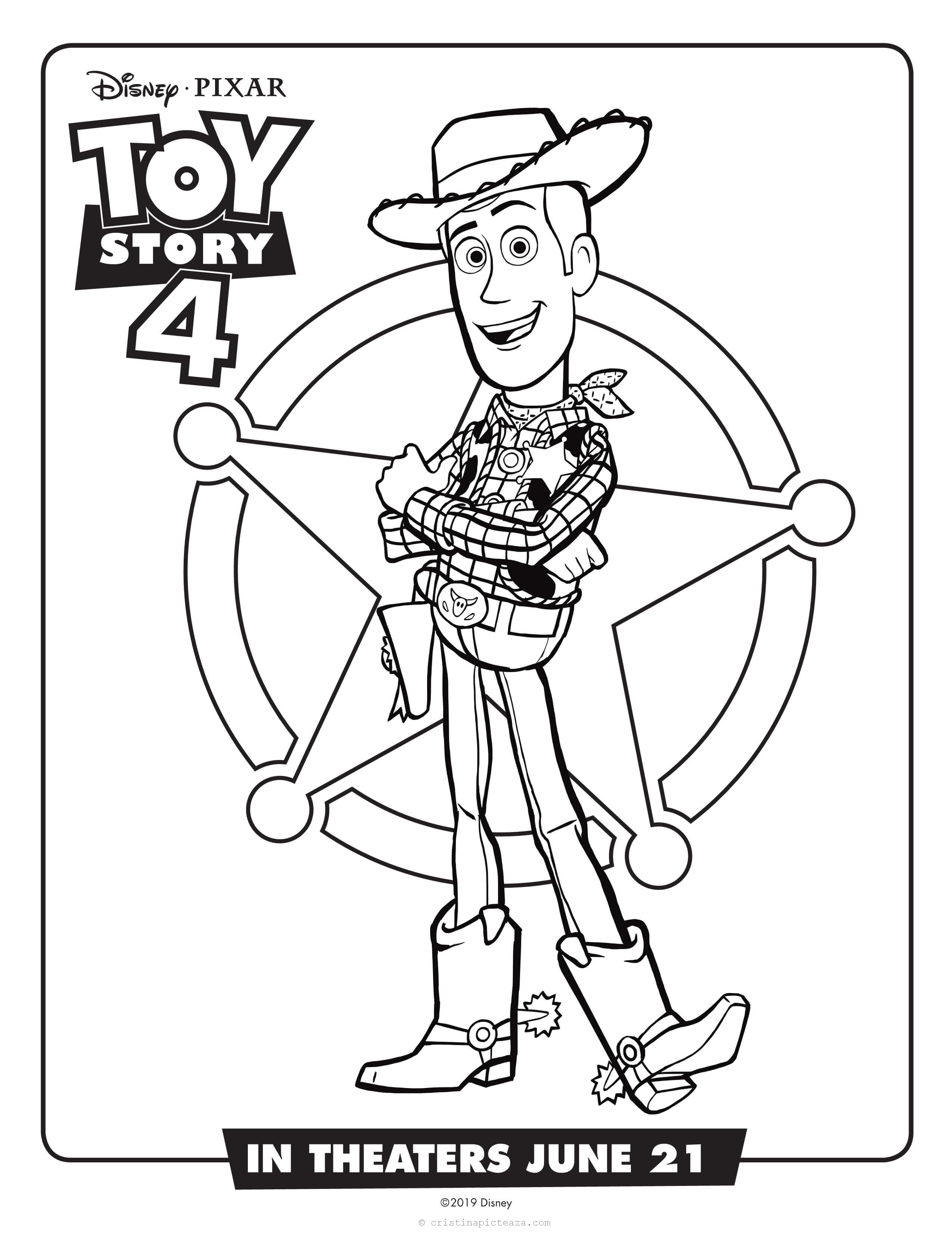 Toy Story 18 Coloring Pages – Pages for paintings and coloring