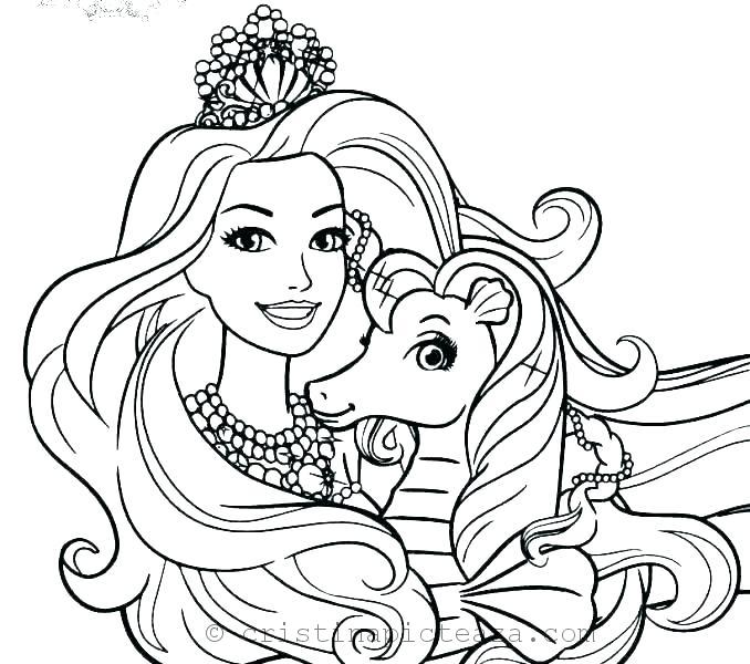 Barbie Coloring Pages – Drawing Sheets With Barbie And Her Friends