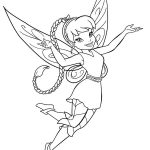 tinkerbell coloring