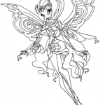 Stella coloring page