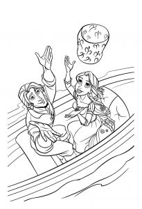 flynn and rapunzel coloring pages (1)