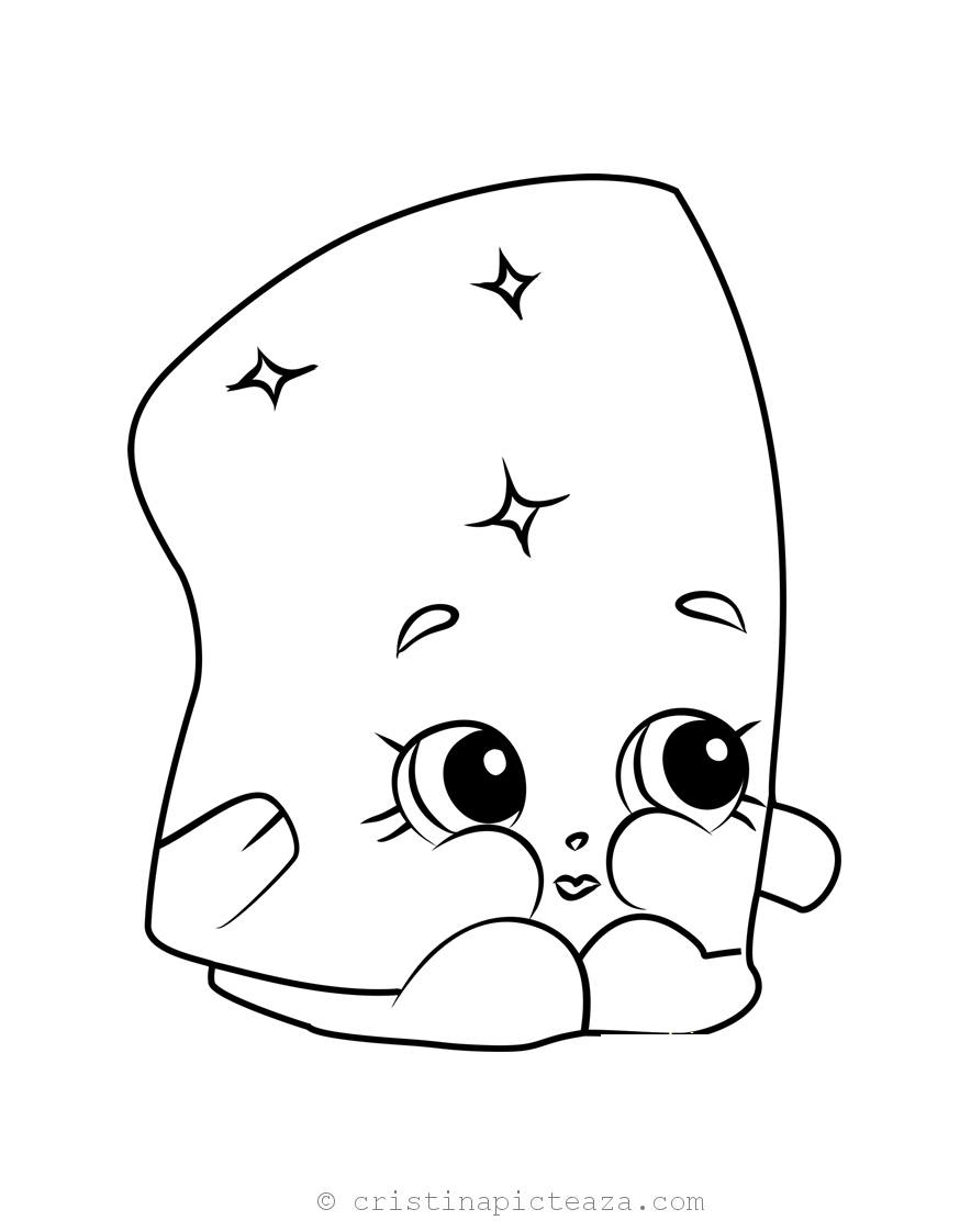 Shopkins Coloring Pages Season 2 (Limited Edition)