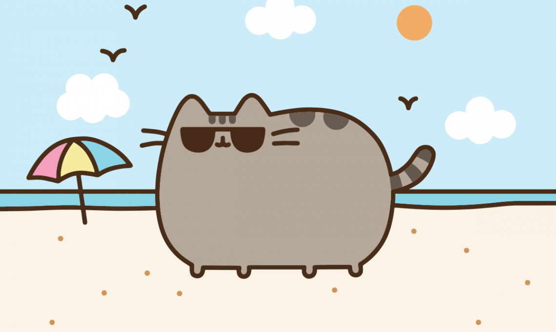 Pusheen de colorat - coloring pusheen