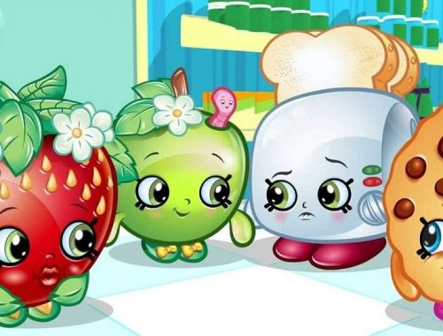 Sweet Treats Shopkins coloring pages