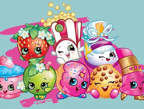 Shopkins de colorat - planse de pictat cu Shopkins