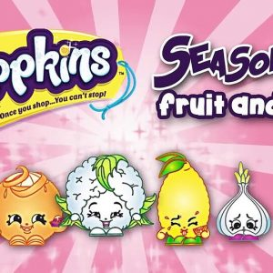 Shopkins coloring pages - Fruit and veg team drawings