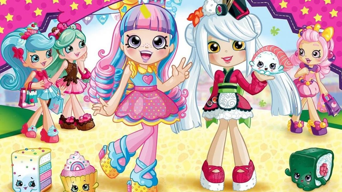 Papusa shopkins de colorat - shopkins shoppies