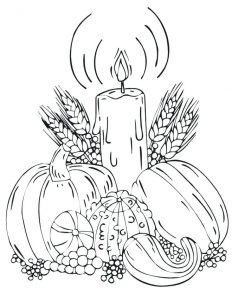 Fall coloring pages - cristina picteaza