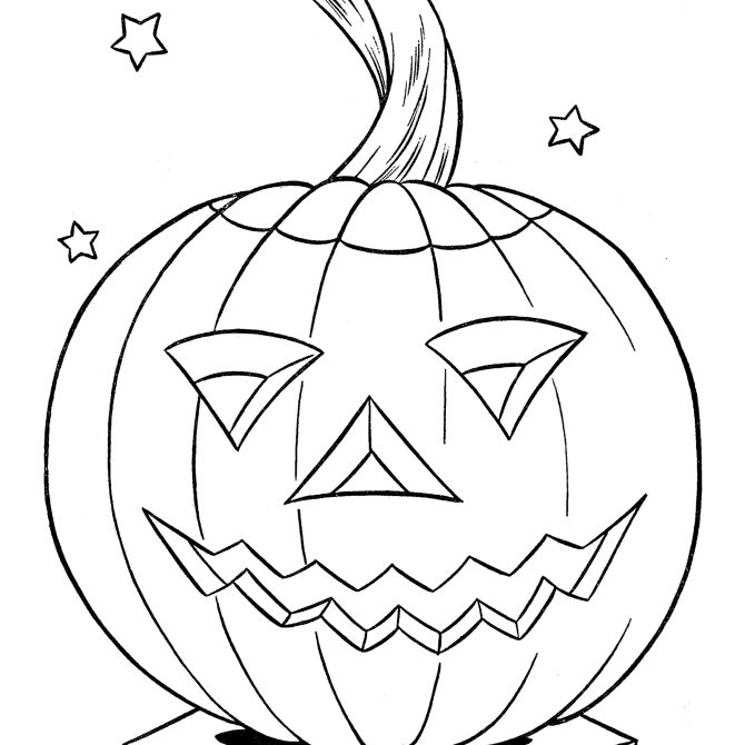 halloween pumpkin - cool pumpkin drawing